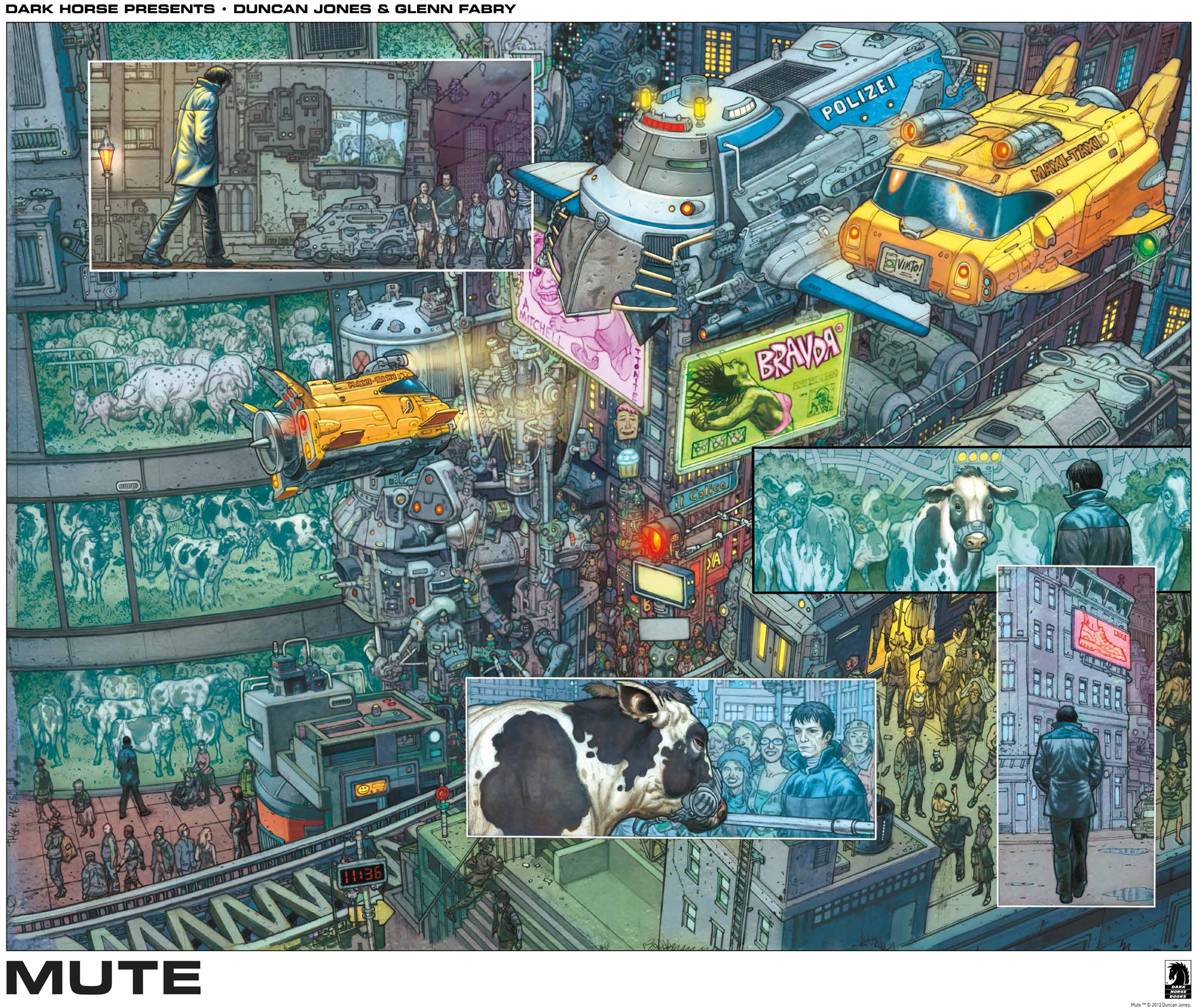 Dark Horse Presents – Duncan Jones & Glenn Fabry – MUTE