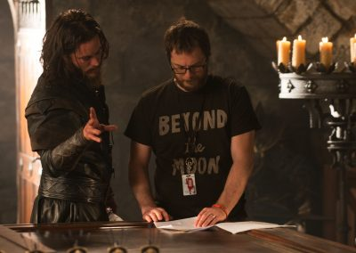 Warcraft - Travis Fimmel and Duncan Jones On Set