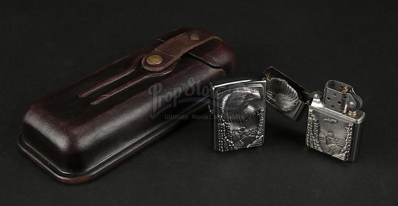 MUTE Prop Store Auction - Cactus Bill's (Paul Rudd) Cigar Case and Lighters