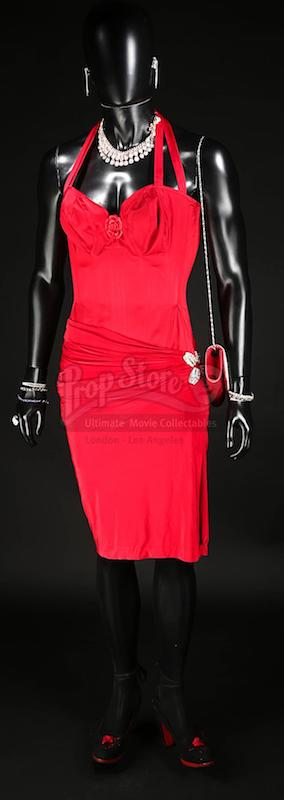 MUTE Prop Store Auction - Luba's (Robert Sheehan) Red Dress Costume